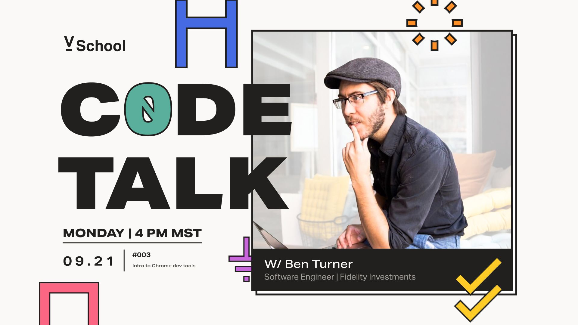 Code Talk #003: Intro to Chrome dev tools