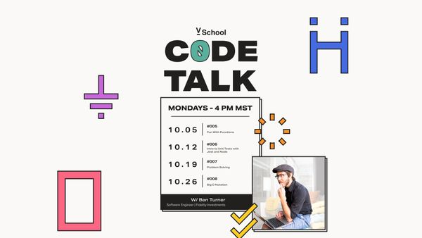 Code Talk October Events