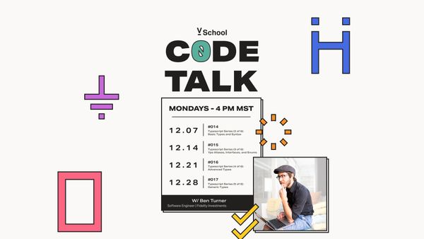 Code Talk December Events