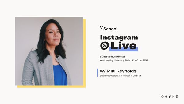 IG Live with Miki Reynolds  + Spotify Playlist