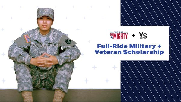 Full-Ride Military + Veteran Scholarship Now Available
